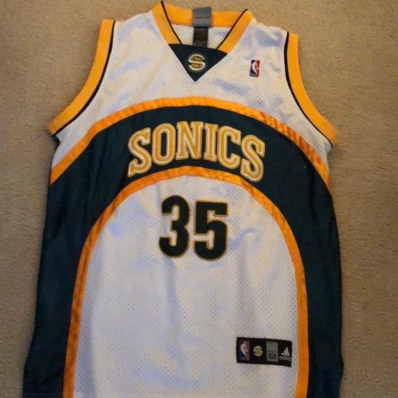 purchase cheap 915b4 5da22 NBA Seattle Sonics Durant Jersey